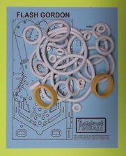 1981 Bally Flash Gordon pinball rubber ring kit