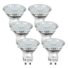 6er 4W GU10 MR16 LED Birne 350lm Leuchtmittel Ersatz für 50W Halogen Warmweiß