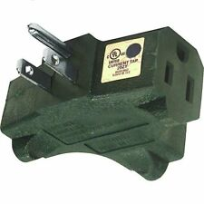 IIT 26825 3 Way Outlet Wall Plug Adapter (T Shaped Wall Tap)