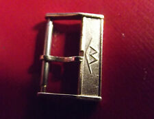 "MOVADO VINTAGE GOLD COLOR "" UNROC "" BUCKLE 18 mm - SWISS MADE"