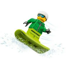 LEGO City: Rescue MiniFigure: Skier / Snowboarder (From Set 60179)