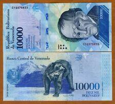 Venezuela 10000 (10,000) Bolivares 13-12-2017 P-New  C-Prefix New design, UNC