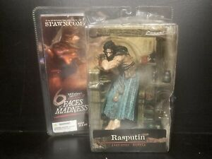 6 Faces of Madness Rasputin Action Figure Spawn Unopened in Packaging 2004