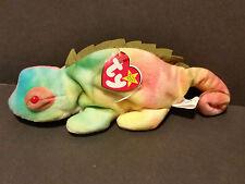 """1997 Ty Beanie Baby - """"Iggy"""", the Iguana W/Tags"""