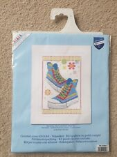 """Vervaco """"Blue Sneakers"""" Counted Cross Stitch Kit (PN-0149911)"""