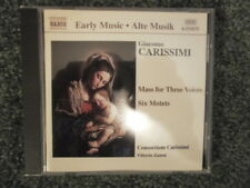 CARISSIMI: MASS FOR THREE VOICES / SIX MOTETS NM CD