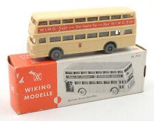 Wiking HO 1:87 Berliner Doppeldeck Bus Nr.72d 1970s *BOXED* (7)