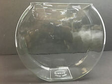 Large Canteen Glass Fish Bowl for Vintage Fish Bowl Stands