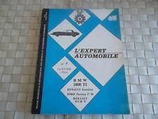REVUE TECHNIQUE BMW 1800 TI  - RENAULT ESTAFETTE R2132 et R2133