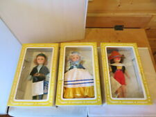 Vintage Effanbee Mother Goose, Peter Pan and Pinocchio Dolls New In Boxes
