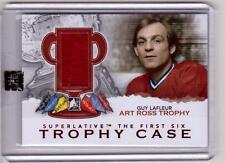 GUY LAFLEUR 12/13 ITG SUPERLATIVE Trophy Case Art Ross Jersey #TC-17 SP /19