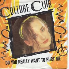 7inch CULTURE CLUB do you really want to hurt me HOLLAND 1982 EX (S1504)