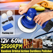Cordless Car Polisher Waxing Buffing 12V Electric Polishing Rechargeable  NEW