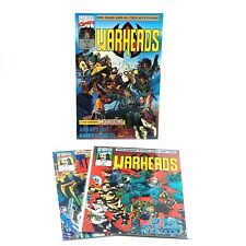Warheads #1 2 3 (1992) Marvel Comics UK