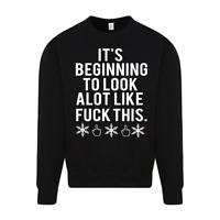 Beginning to look a lot like Christmas Jumper Sweater Funny Joke Lockdown Gift