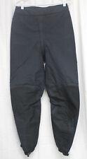 Patagonia Women's Ski Snow Pants Climbing Sz 12 Reg Black Full Crotch Zipper