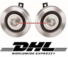 BOSCH High Super Tone Silver Air Horn 300Hz-375Hz Ford-Mercedes-Porsche 356-911
