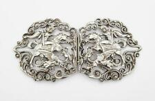 More details for fine sterling silver nurses buckle london 1991 george and the dragon