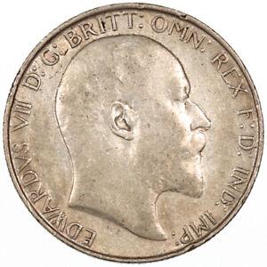 1908 Florin Edward VII Silver 2/-