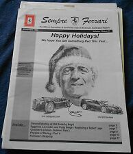 Ferrari Club of America Southwest région Newsletter no Book brochure depliant