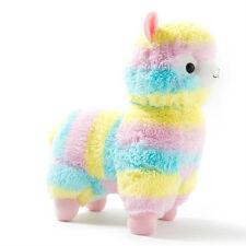 Alpacasso Arpakasso Amuse Rainbow Striped Llama Alpaca Stuffed Plush Doll 5''