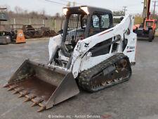 2014 Bobcat T590 Skid Steer Track Loader Crawler Aux Hydraulics Diesel bidadoo