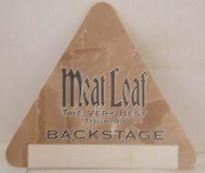 MEAT LOAF - ORIGINAL CONCERT TOUR CLOTH BACKSTAGE PASS