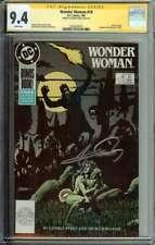 Wonder Woman #18 SS CGC 9.4 Auto George Perez 1st Cameo App Modern Circe