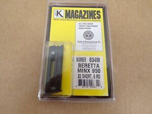 Beretta Minx 950 .22 Short Magazine by Triple K #634M Made in the USA!
