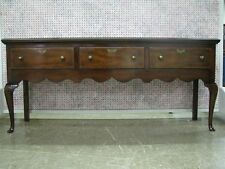 Kittinger Furniture Colonial Williamsburg Mahogany Queen Anne Low Sideboard