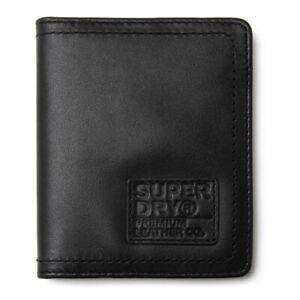 SUPERDRY Mens Badge Card Wallet Black