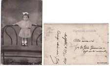 # da  MOLFETTA..NEL 1927 QUANDO PIA AVEVA 19 MESI - fotocartolina