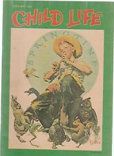 Child Life Magazine NORMAN ROCKWELL Springtime April May 1983