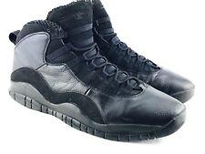 Air Jordan Retro X 10 Mens 15 Triple Black Cat 310805 010 Stealth Oreo Basketbal