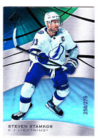 19/20 SP GAME USED...STEVEN STAMKOS...RAINBOW.../275...CARD # 12...LIGHTNING