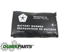 05-17 Jeep Dodge Chrysler BATTERY HEATER BLANKET MOPAR GENUINE OEM Ram Wrangler