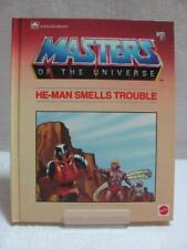 Masters of The Universe - A Golden Book Mattel Inc  He-Man Smells Trouble
