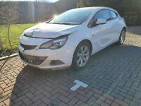 2013 VAUXHALL ASTRA GTC 1.4T 16V SPORT 3DOOR COUPE PETROL MANUAL DAMAGED SALVAGE