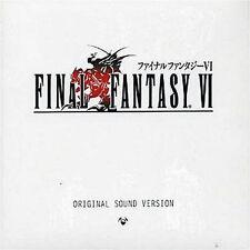 Final Fantasy Ff Game Soundtrack Cd Japanese Final Fantasy Vi Original Sound Ve