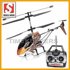Double Horse 9051 Marrone EAGLE RC Radiocomando GYRO 3ch Elicottero Aeroplano