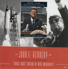 Palau 2012 MNH Famous Speeches John F Kennedy Space Race 1v S/S JFK Stamps