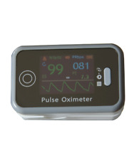 Rechargeable Fingertip Pulse Oximeter + Data Storage/PC