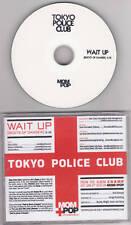 Tokyo Police Club - Wait Up - Rare Radio Promo CD Single - 1204