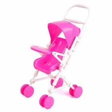 Baby Buggy Stroller Assembly Dollhouse Nursery Furniture Toy For Barbie Doll Kit