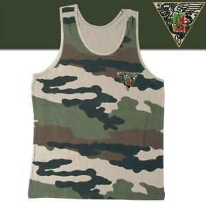 Débardeur camouflage avec écusson brodé 2°REP LÉGION ÉTRANGÈRE - Taille XL / 112