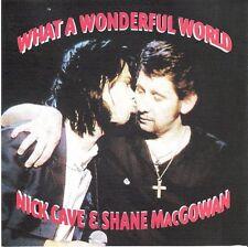 NICK CAVE & SHANE McGOWAN What A Wonderful World Cd