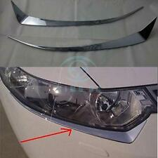 Chrome Head light Eyelid Trim Exteriors Parts For Acura TSX 2009-2012
