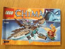 Lego Chima 70141 Vardys Ice Vulture Glider - instructions only - free postage