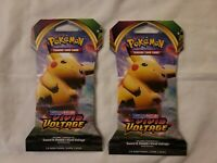 NEW 2x Pokemon SWORD AND SHIELD VIVID VOLTAGE Sealed Booster Packs.(2 Packs)