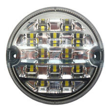 95MM LED ROUND REAR REVERSE LAMP LIGHT UPGRADE LAND ROVER 90 110 DEFENDER NAS